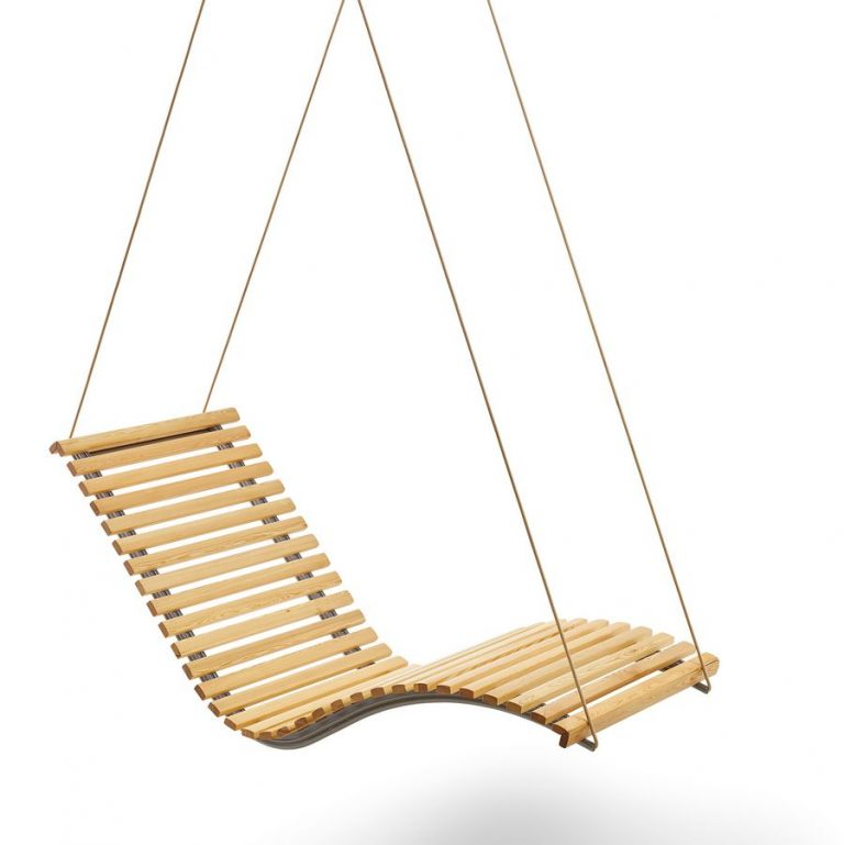 Hängeliege Siesta Sky Uno Outdoor Holz in Lärche