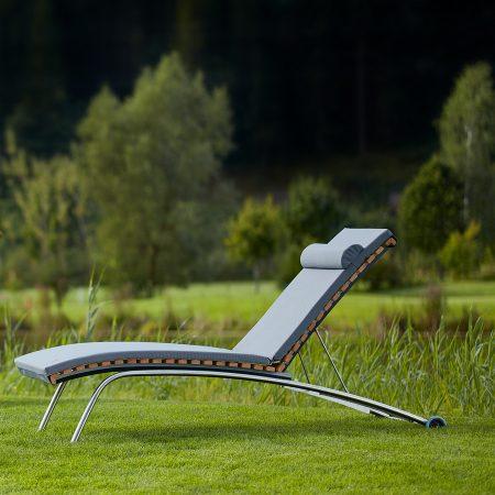 Sonnenliege Siesta Stabil Outdoor Holz